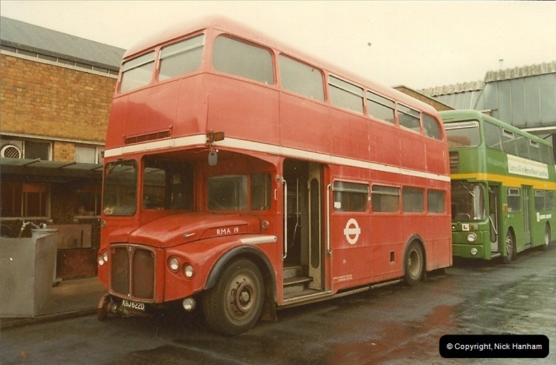 London Buses 1963 to 2007.  (18) 018