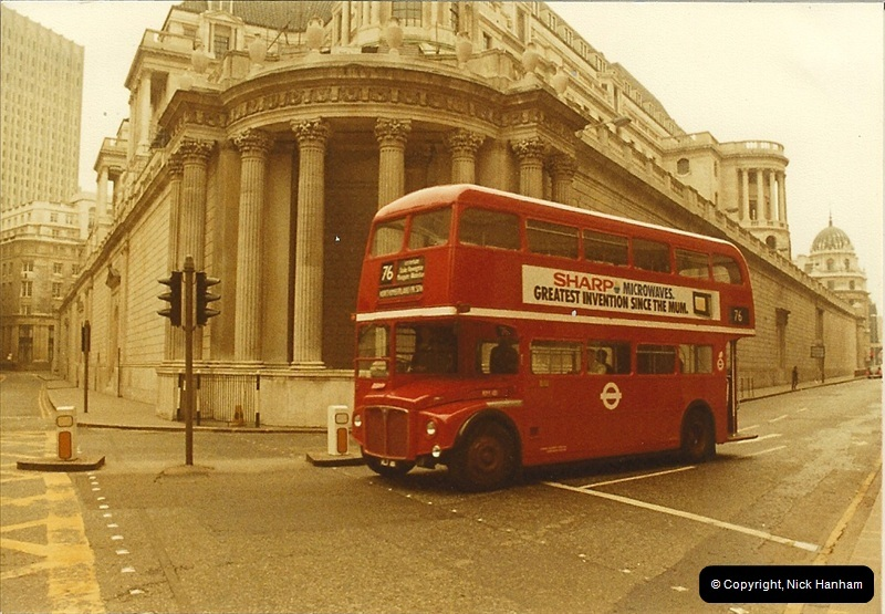 London Buses 1963 to 2007.  (20) 020