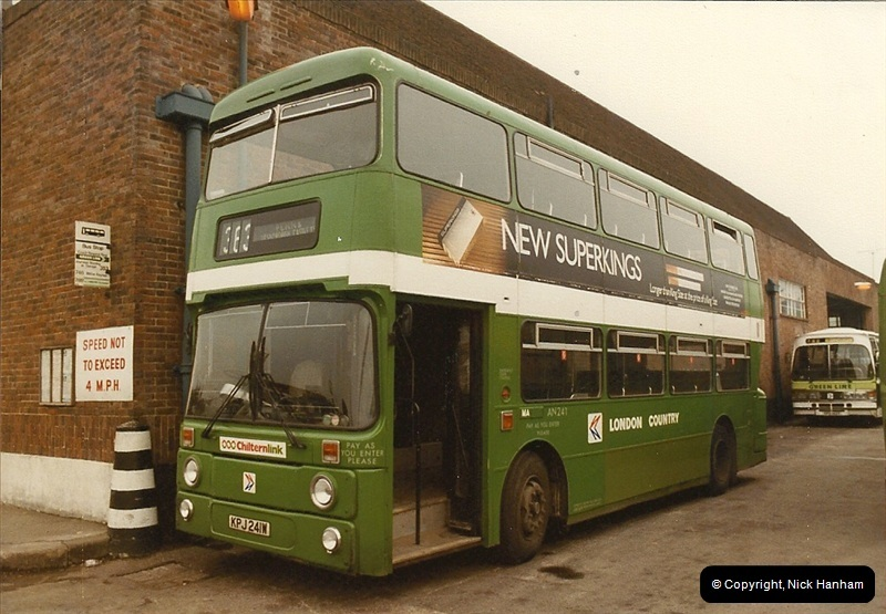 London Buses 1963 to 2007.  (22) 022