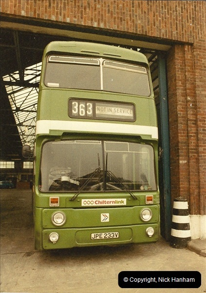 London Buses 1963 to 2007.  (26) 026