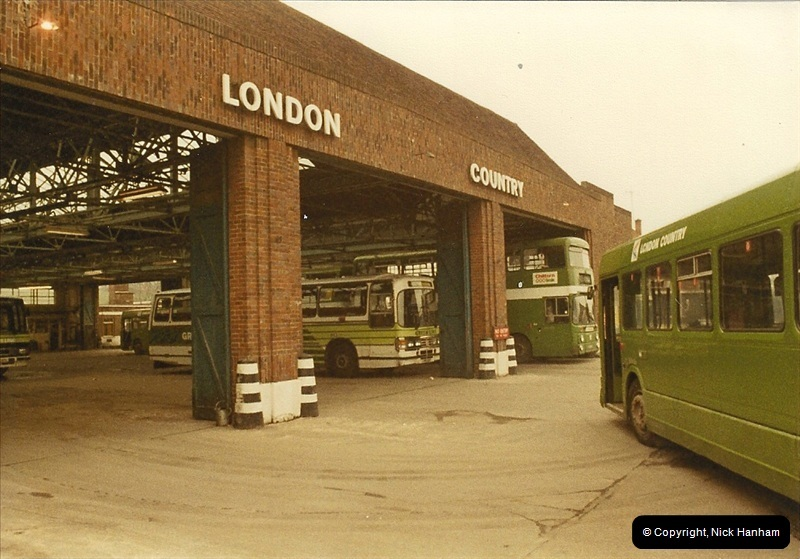 London Buses 1963 to 2007.  (27) 027