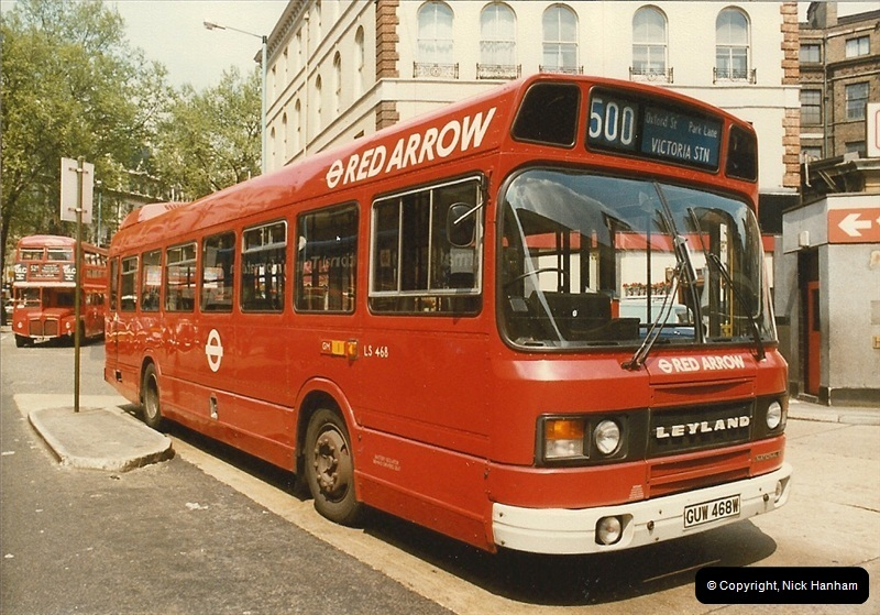London Buses 1963 to 2007.  (31) 031