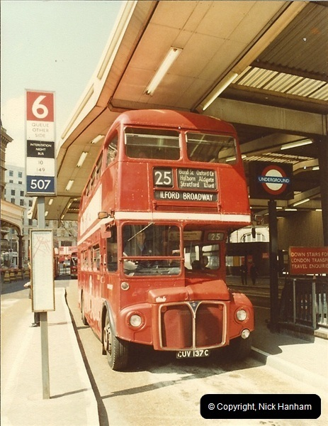 London Buses 1963 to 2007.  (33) 033