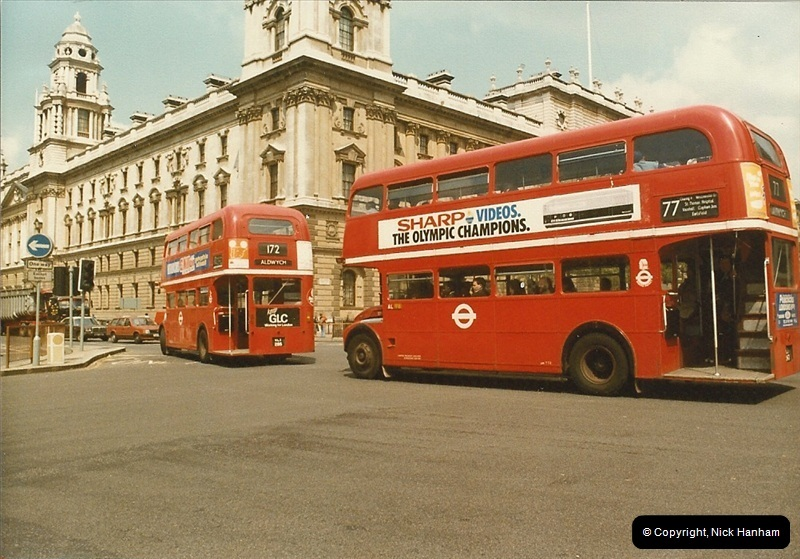 London Buses 1963 to 2007.  (36) 036