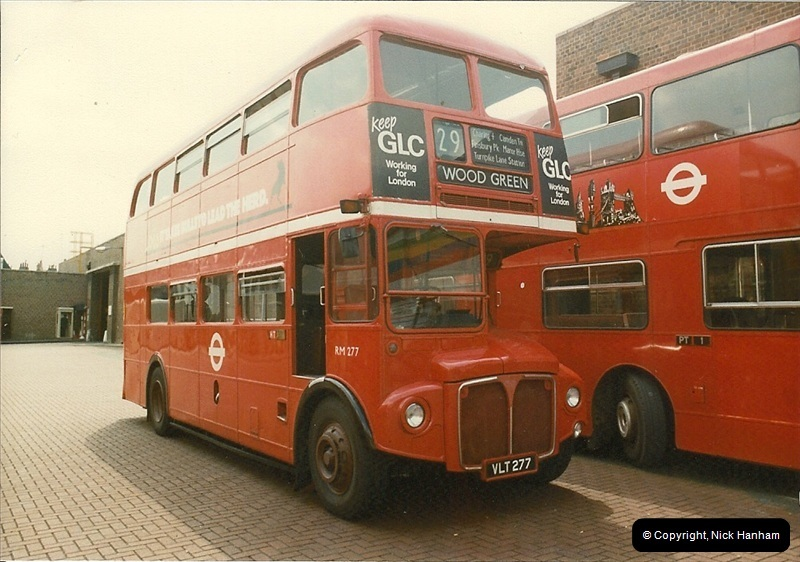 London Buses 1963 to 2007.  (41) 041