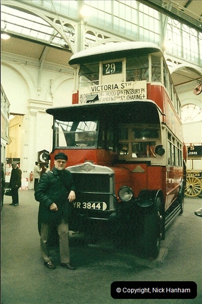 London Buses 1963 to 2007.  (47) 047