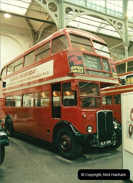 London Buses 1963 to 2007.  (53) 053