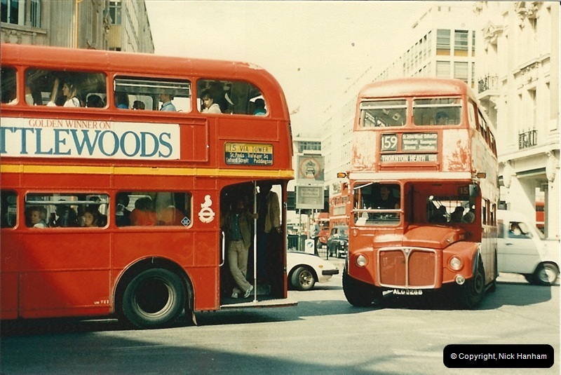 London Buses 1963 to 2007.  (69) 069