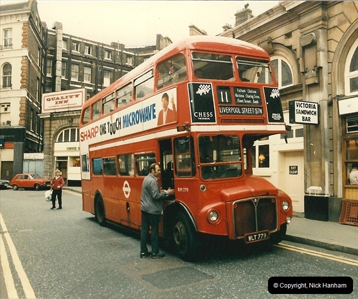 London Buses 1963 to 2007.  (79) 079