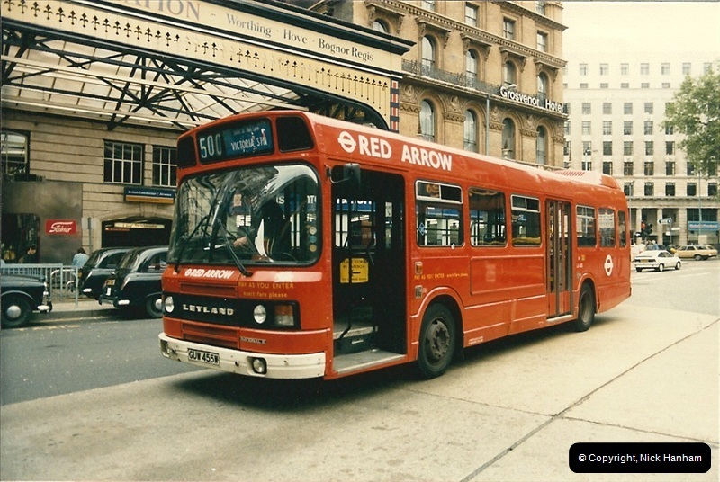 London Buses 1963 to 2007.  (80) 080