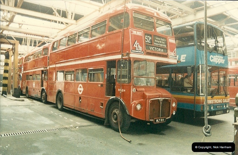 London Buses 1963 to 2007.  (88) 088