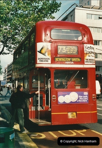 London Buses 1963 to 2007.  (100) 100