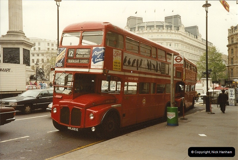 London Buses 1963 to 2007.  (104) 104