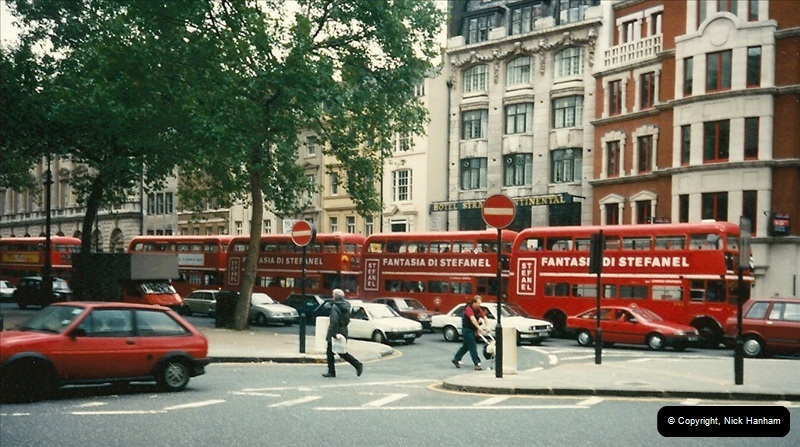 London Buses 1963 to 2007.  (111) 111