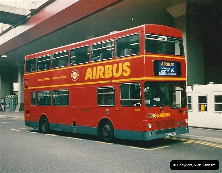 London Buses 1963 to 2007.  (114) 114