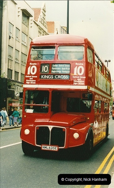 London Buses 1963 to 2007.  (127) 127