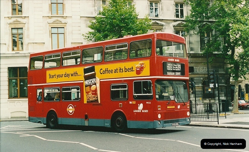 London Buses 1963 to 2007.  (130) 130