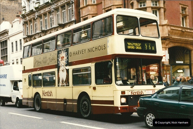 London Buses 1963 to 2007.  (152) 152