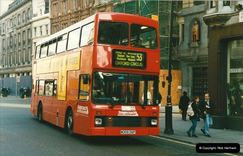 London Buses 1963 to 2007.  (161) 161