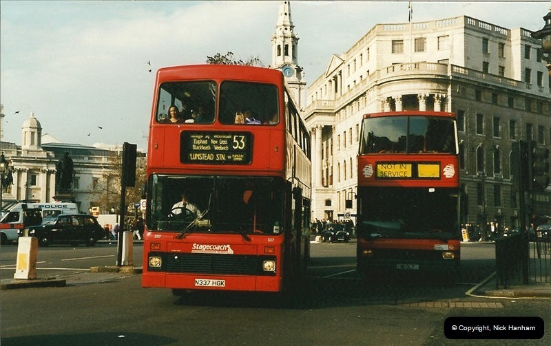 London Buses 1963 to 2007.  (165) 165