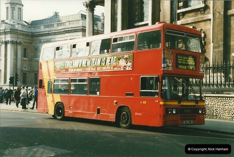 London Buses 1963 to 2007.  (167) 167