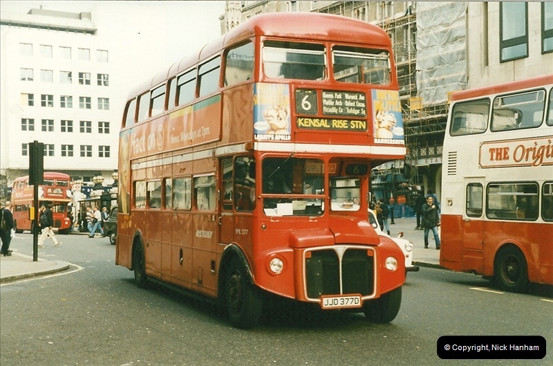 London Buses 1963 to 2007.  (169) 169