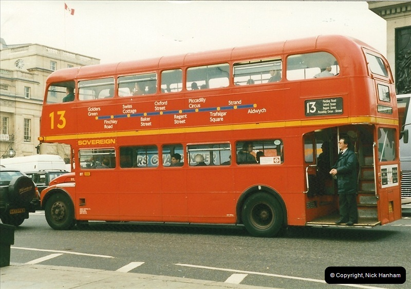 London Buses 1963 to 2007.  (173) 173