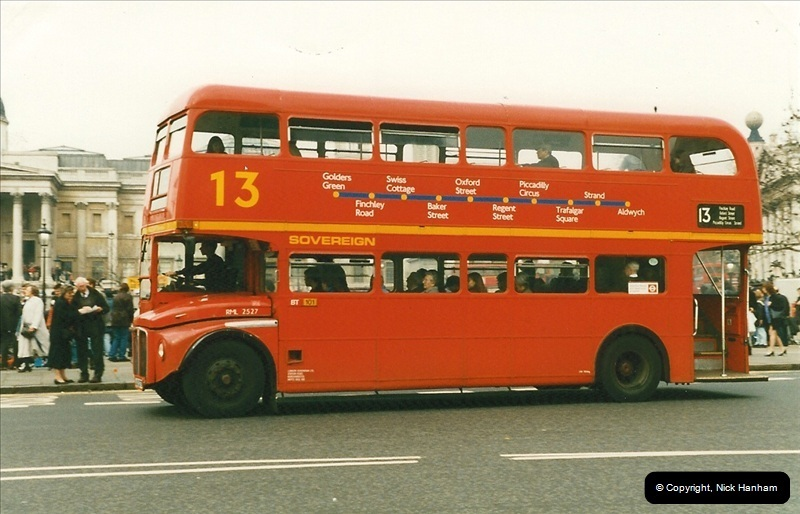 London Buses 1963 to 2007.  (174) 174