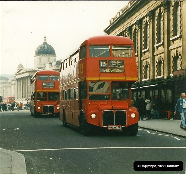 London Buses 1963 to 2007.  (178) 178