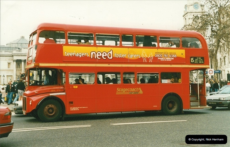 London Buses 1963 to 2007.  (182) 182