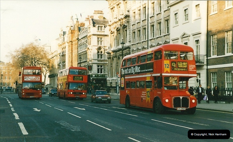 London Buses 1963 to 2007.  (189) 189