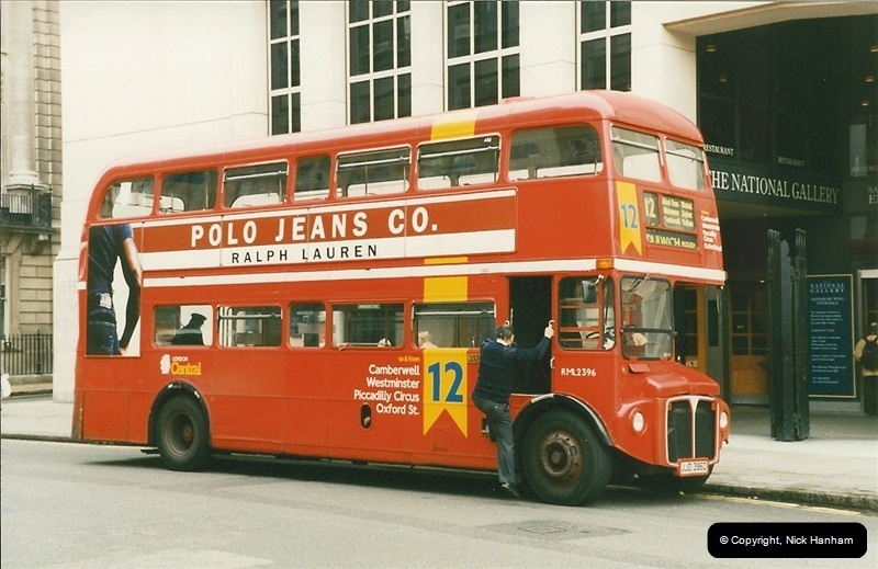 London Buses 1963 to 2007.  (192) 192