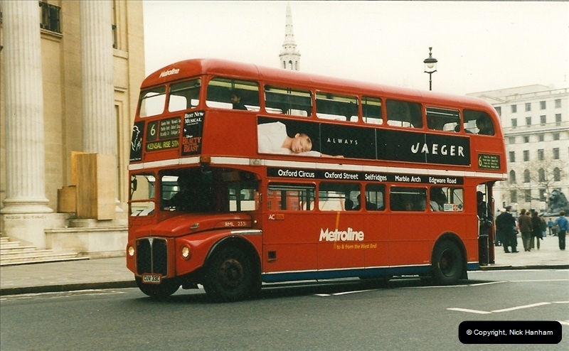 London Buses 1963 to 2007.  (197) 197