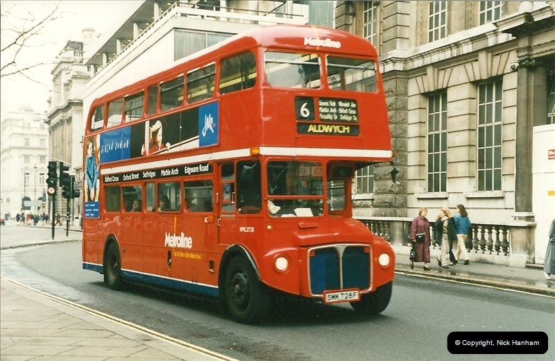 London Buses 1963 to 2007.  (200) 200