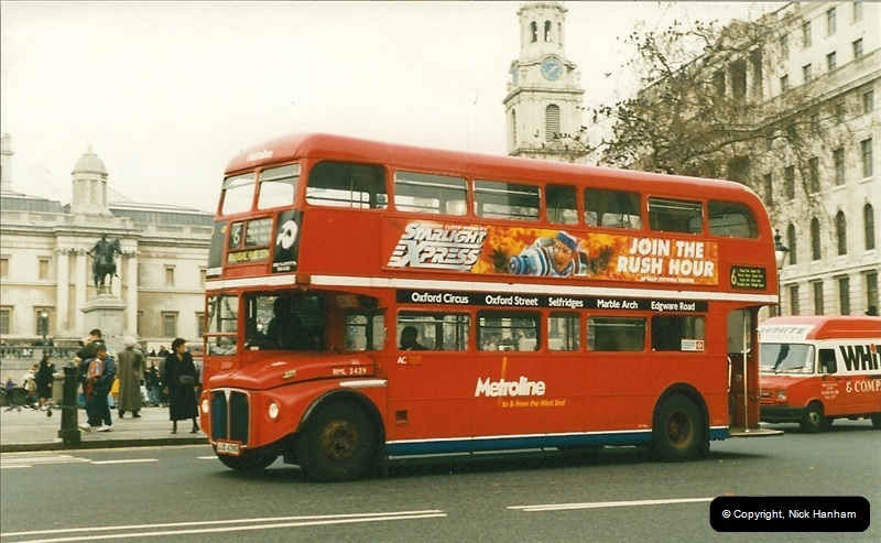 London Buses 1963 to 2007.  (206) 206