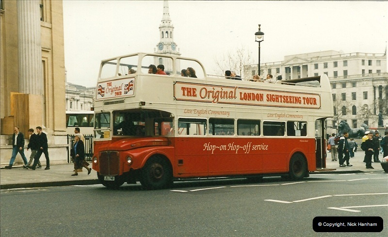 London Buses 1963 to 2007.  (214) 214