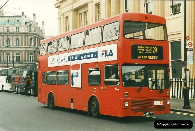 London Buses 1963 to 2007.  (217) 217