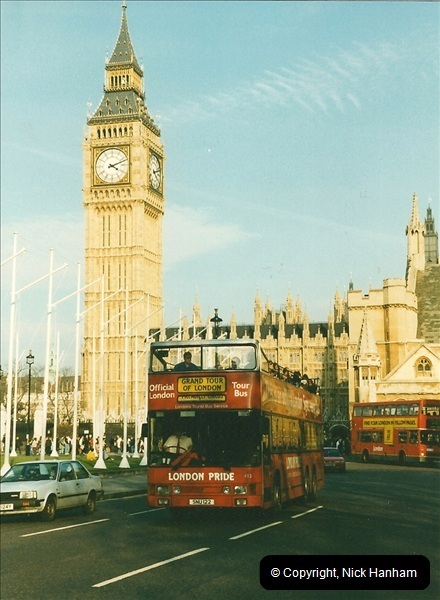 London Buses 1963 to 2007.  (224) 224