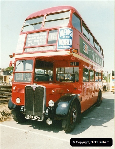 London Buses 1963 to 2007.  (247) 247