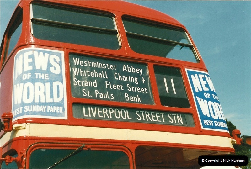 London Buses 1963 to 2007.  (248) 248