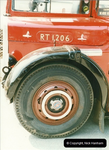 London Buses 1963 to 2007.  (250) 250
