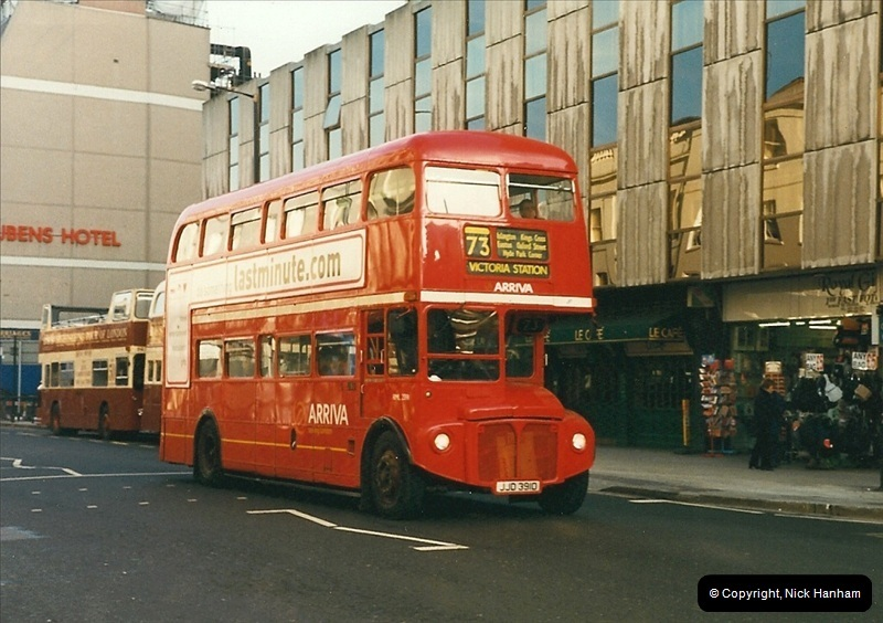 London Buses 1963 to 2007.  (269) 269