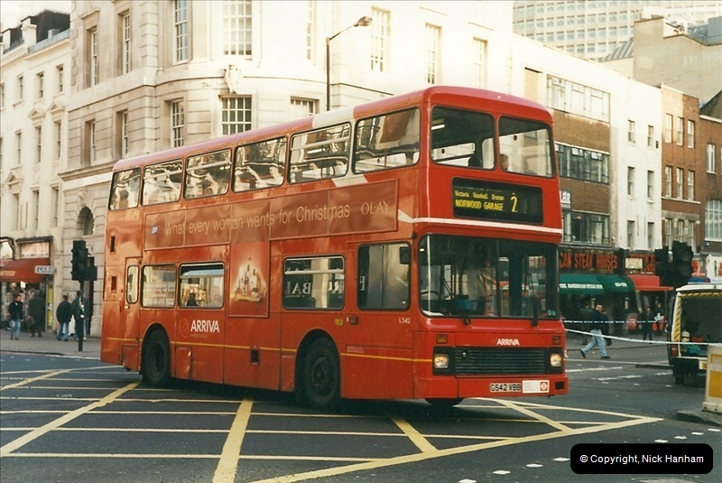 London Buses 1963 to 2007.  (273) 273