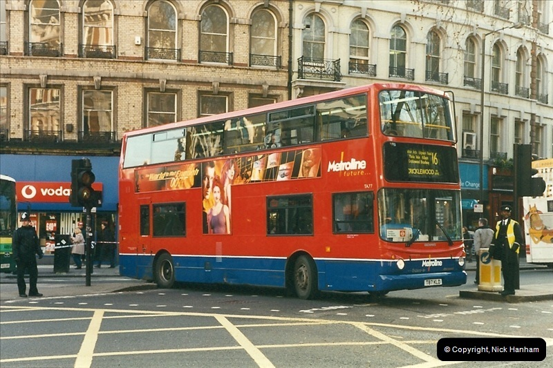 London Buses 1963 to 2007.  (274) 274