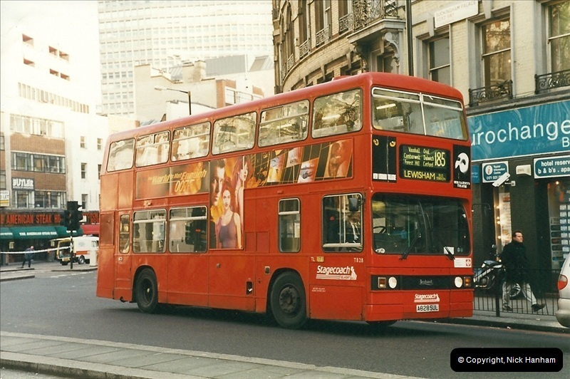 London Buses 1963 to 2007.  (278) 278