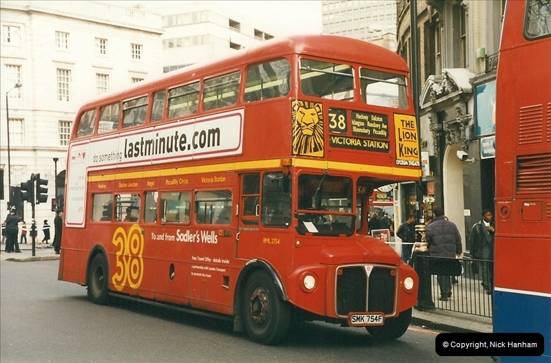 London Buses 1963 to 2007.  (283) 283