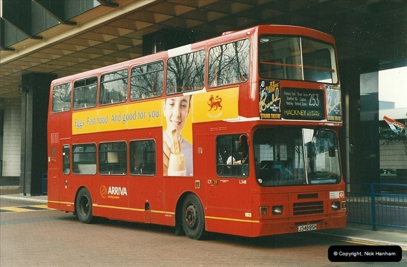 London Buses 1963 to 2007.  (285) 285