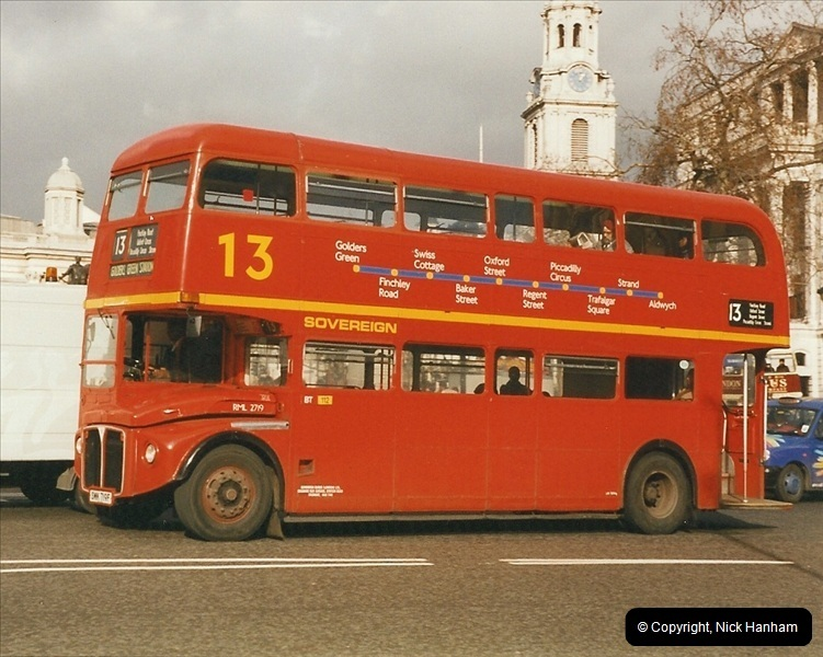 London Buses 1963 to 2007.  (298) 298