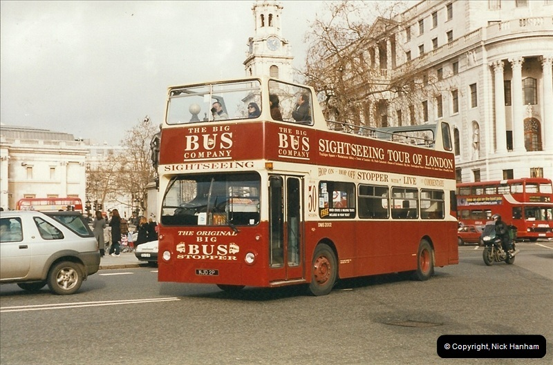 London Buses 1963 to 2007.  (299) 299