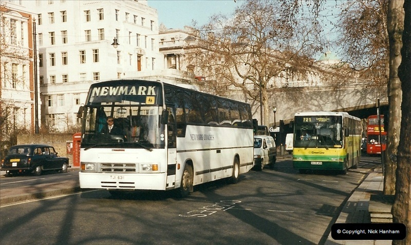 London Buses 1963 to 2007.  (310) 310